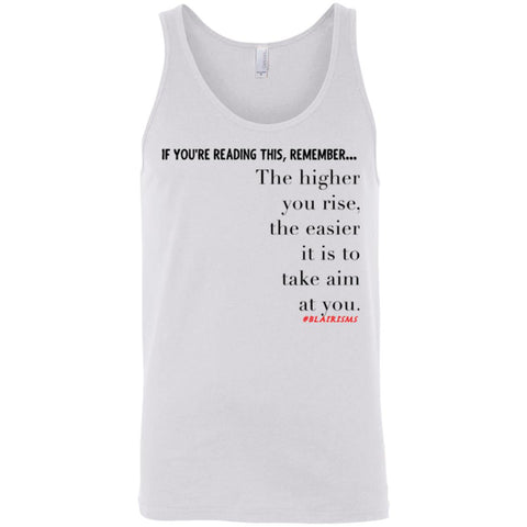 Higher You Rise Unisex Tank