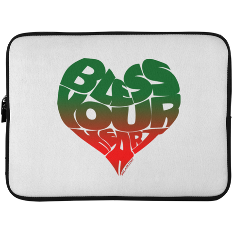 BLESS YOUR HEART AFRICA Laptop Sleeve - 15 Inch
