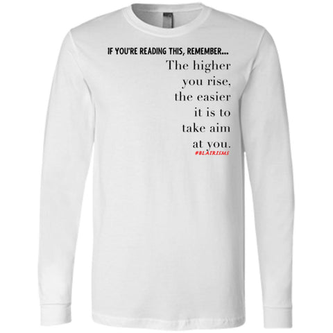 Higher You Rise Men's Longsleeve