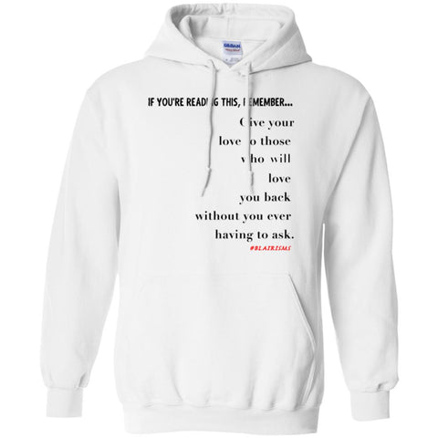 GIVE YOUR LOVE Pullover Hoodie