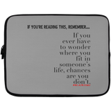 CHANCES ARE Laptop Sleeve - 13 inch