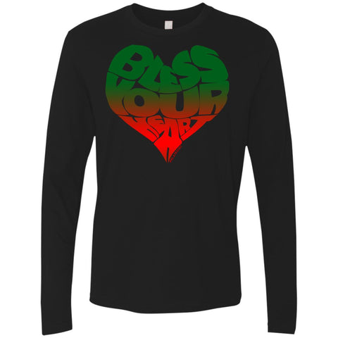 BLESS YOUR HEART AFRICA Men's Longsleeve