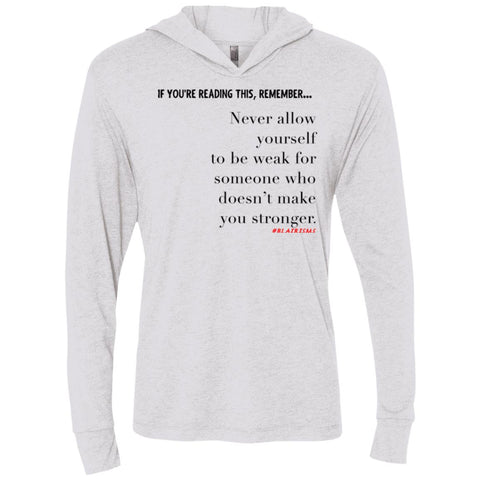 Stronger Longsleeve Hooded T-Shirt