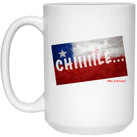 CHILE 15 oz. White Mug