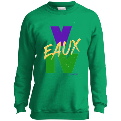 V EAUX IV (MG) Youth Crewneck Sweatshirt