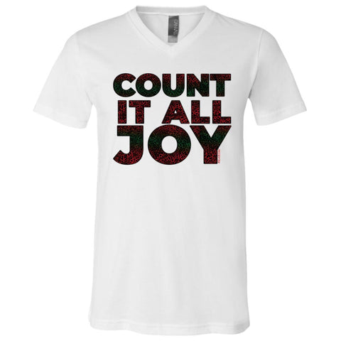 COUNT IT ALL JOY Boy's V-Neck