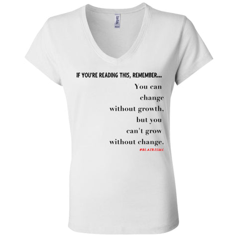 Grow Without Change Women's V-Neck