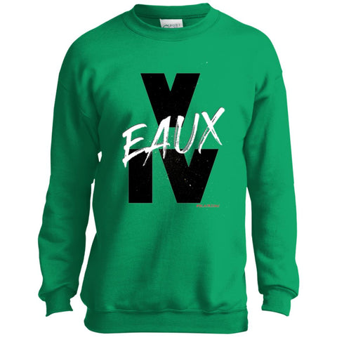 V EAUX IV (WB) Youth Crewneck Sweatshirt