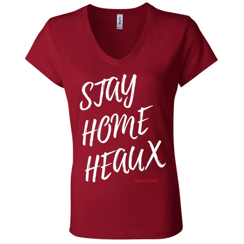 STAY HOME HEAUX Women's V-Neck