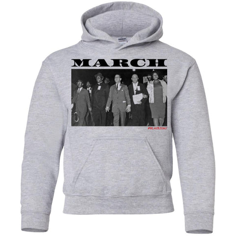 MARCH: ORETHA CASTLE HALEY FREEDOM'S MARCH Youth Pullover Hoodie