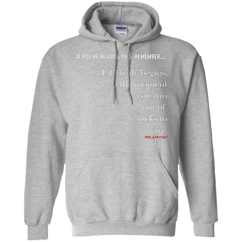 Out of Fucks Pullover Hoodie