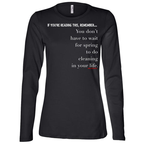 SPRING CLEANING Women's Longsleeve
