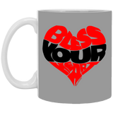 BLESS YOUR HEART BLK 11 oz. White Mug