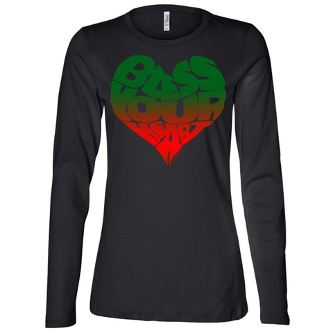 BLESS YOUR HEART Africa Women's Longsleeve