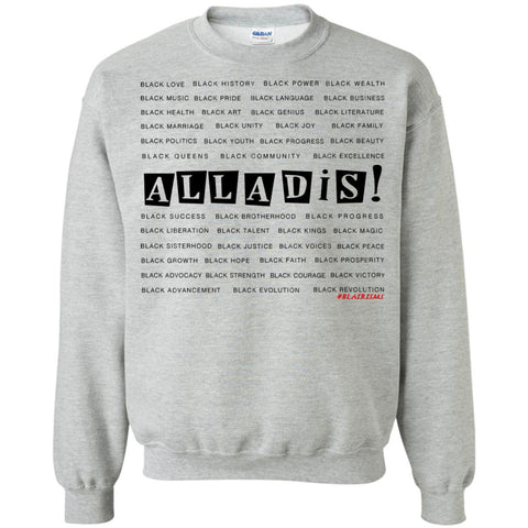 BLACK MAGIC ALLADIS Crewneck Pullover Sweatshirt