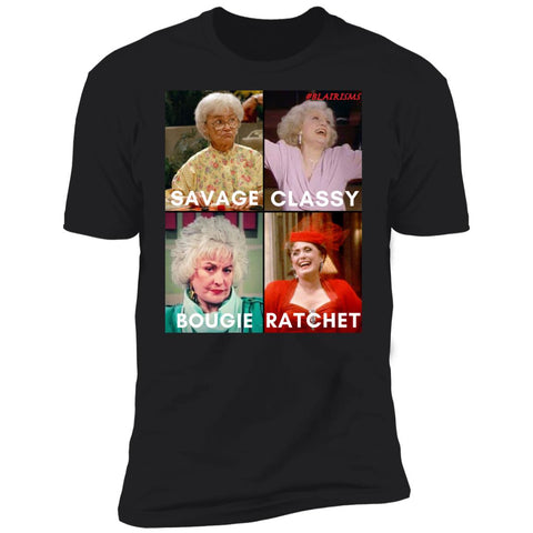 #GOLDENGIRLS SAVAGE MEN'S T-SHIRT