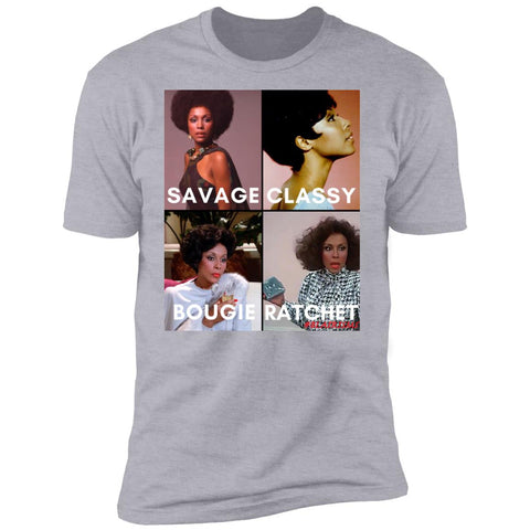 DIAHANN CARROLL #SAVAGE Men's Crew