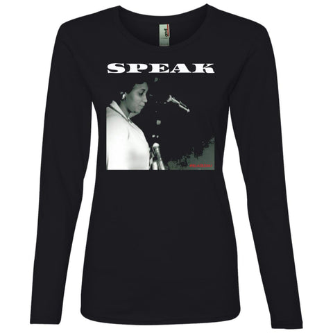 SPEAK: ORETHA CASTLE HALEY FREEDOM'S MARCH SPEECH Women's Longsleeve Crew