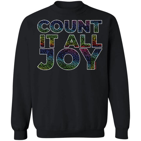 COUNT IT ALL JOY - RAINBEAUX Sweatshirt  8 oz.