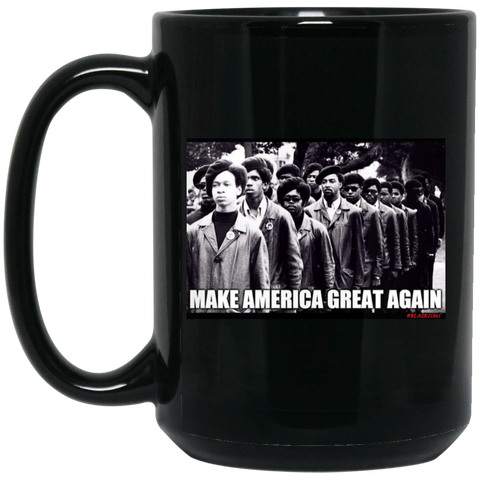 MAGA 15 oz. Black Mug