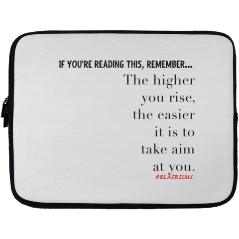 THE HIGHER YOU RISE Laptop Sleeve - 13 inch