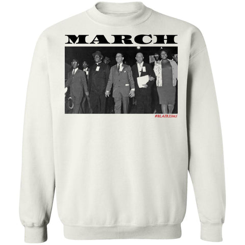 MARCH: ORETHA CASTLE HALEY FREEDOM'S MARCH Crewneck Pullover Sweatshirt