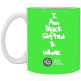 Black, Gifted, & Whole WHT 11 oz. White Mug