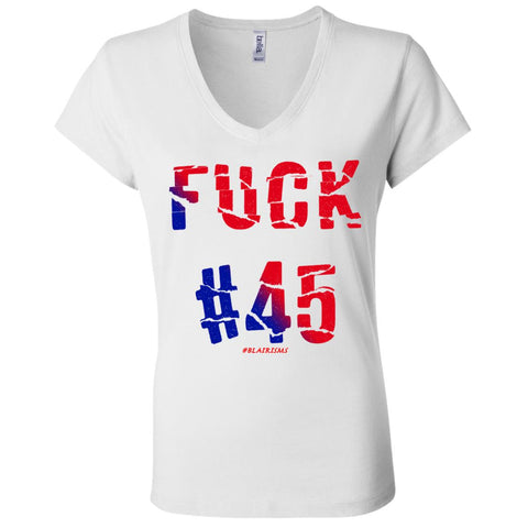 FUCK45 Women's V-Neck