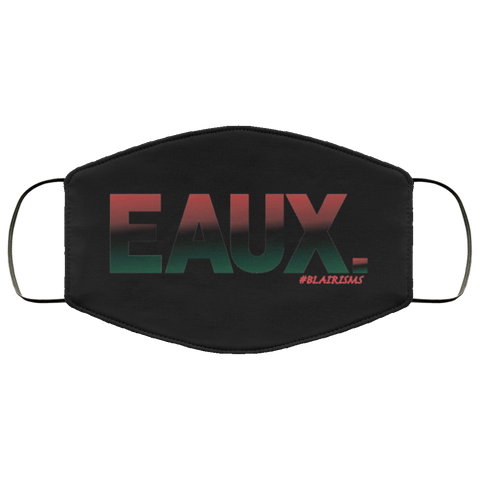 Red/Black/Green EAUX Face Mask