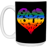 BLESS YOUR HEART RB1 15 oz. White Mug