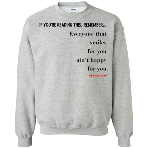 Smiles For You Crewneck Pullover Sweatshirt