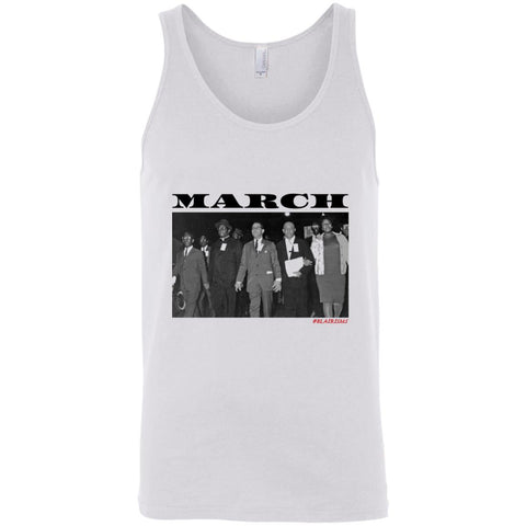 MARCH: ORETHA CASTLE HALEY FREEDOM'S MARCH Unisex Tank