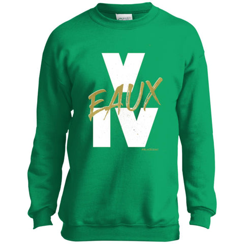 V EAUX IV (WG) Youth Crewneck Sweatshirt