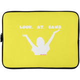 LOOK.AT. GAWD. Laptop Sleeve - 15 Inch