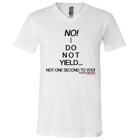 NO! I DO NOT YIELD... Boy's V-Neck