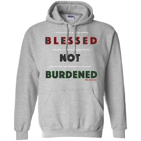 BLESSED NOT BURDENED WOMAN AFRICAN Pullover Hoodie