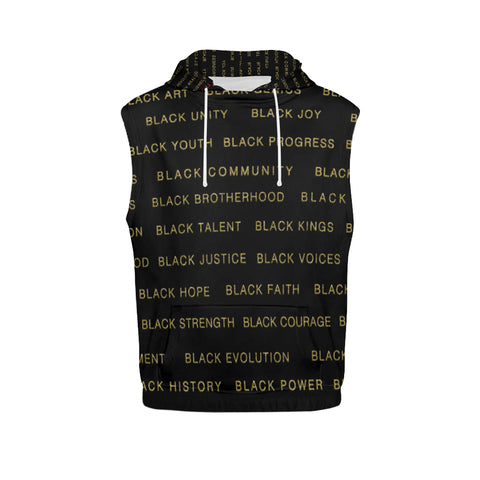 BLACK MAGIC SLEEVELESS HOODIES