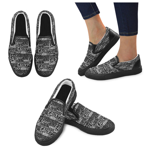 ALLEAUXVER MEN'S SLIP ON SHOES
