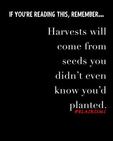 If...Harvests Will Come