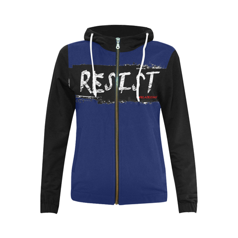 RESIST FIST WOMEN'S HOODIES