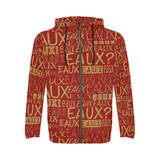 GOLD/RAINBEAUX/RED BLACK GREEN ALLEAUXVER HOODIES