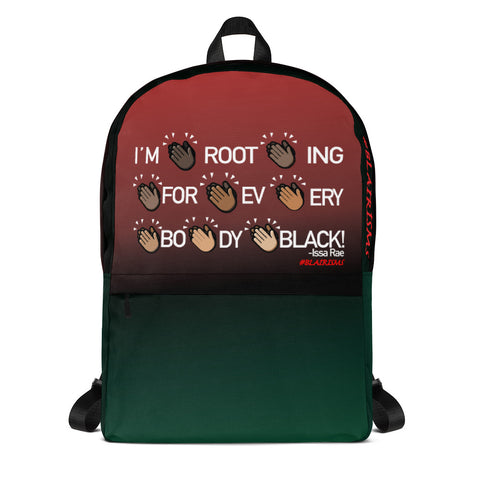 I'M ROOTING FOR EVERYBODY BLACK RBG Backpack