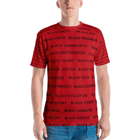 RED BLACK MAGIC Men's ALL EAUX-ver T-shirt