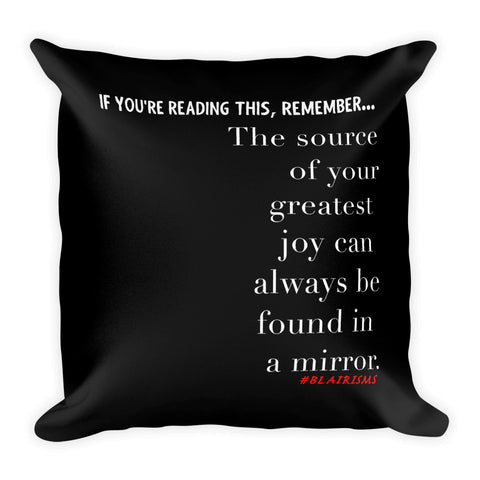YOUR GREATEST JOY THROW PILLOW
