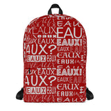 Red AllEAUXver Backpack