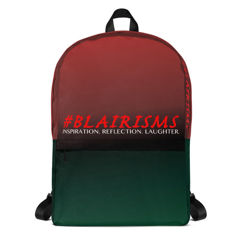 #BLAIRISMS LOGO RBG Backpack