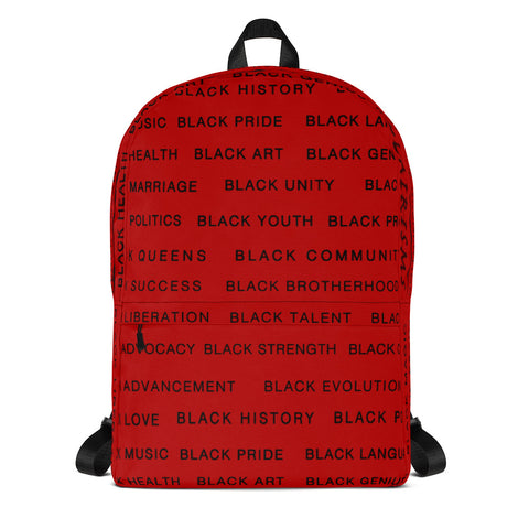RED Black Magic AllEAUXver Backpack