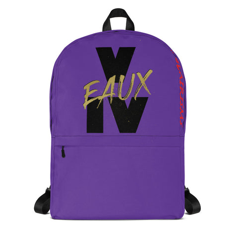 PURPLE & GOLD V EAUX IV Backpack