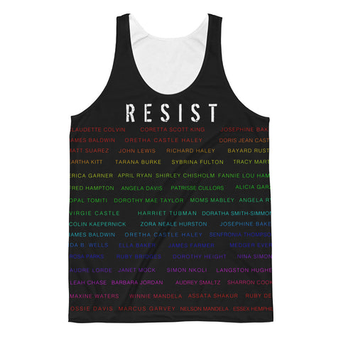 Rainbeaux Activist  RESIST Unisex Classic Fit Tank Top
