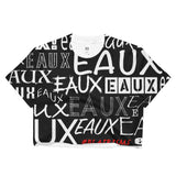 BLACK ALL EAUX-VER Crop Top